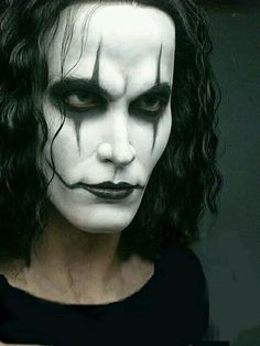 """~Brandon Lee As Eric Draven ~In 1994""""s The Crow ~"""