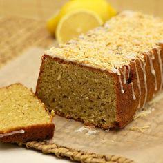 Lemon Toasted Coconut Pound Cake