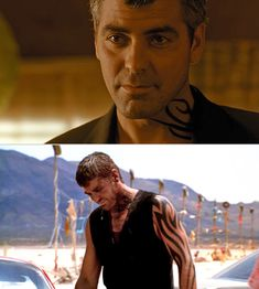 Clooney in this movie, with that tat...HOT.