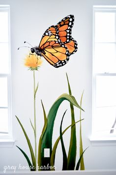A Formal Dining Room Goes Fun - paula mcdonald - A Formal Dining Room Goes Fun Our kids' playroom continues to be one of my favorite rooms in our home - Playroom Mural, Kids Room Murals, Murals For Kids, Bedroom Murals, Paintings For Kids Room, Wall Paintings, Kids Rooms, Wall Painting Decor, Mural Wall Art