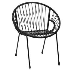 """Chaise enfant noir """"Tica"""" - Small The Rocking Company - Table et chaise - Mobilier enfant - mini hero"""