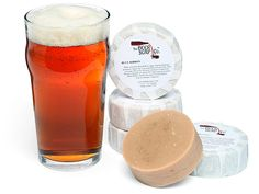 Beer Soap (vegan, all-natural, and smells like... yes, beer)