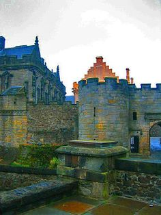 Stirling Castle and the Royal Palace, which was the childhood home of Mary Queen of Scots