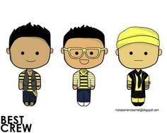 BEST crew: Nigahiga, Kevjumba, Jeffery