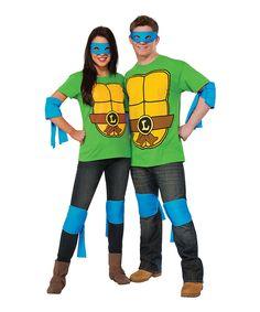 Look at this #zulilyfind! TMNT Leonardo Costume Set - Adult by Teenage Mutant Ninja Turtles #zulilyfinds