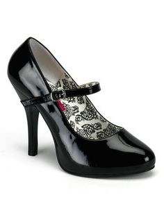 Pumps Mary Jane  Black Mary Jane High Heel Pump  7 * This is an Amazon Associate's Pin. Details on product can be viewed on Amazon website by clicking the VISIT button.