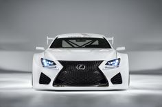 #Lexus #RC #GT3 Overseas concept vehicle shown