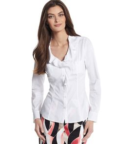 Love the white blouse, but not boring