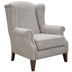 Classic Wing Armchair from Freedom Furniture at Crossroads Homemaker Centre Living Room Chairs, Living Room Furniture, Home Furniture, Furniture Market, Accent Furniture, Furniture Ideas, Sofa Design, Interior Design, Winged Armchair