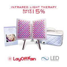 #LEDTechnologies Infrared LED #LightTherapy. Increase your circulation, oxygenation and promote wound healing! Save at least 15%
