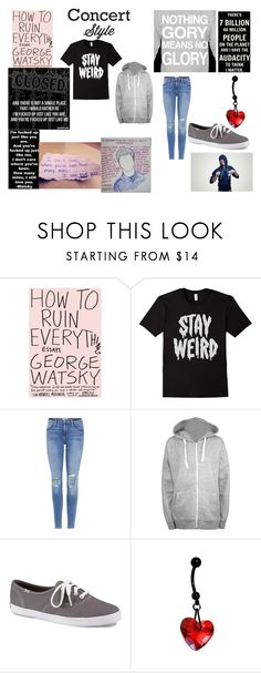 """Warped Tour"" by moonstar-kookie ❤ liked on Polyvore featuring Frame, WearAll, Keds and plus size clothing"