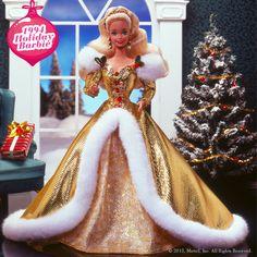 Holiday Barbie 1994 #holidaybarbie