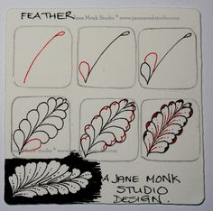 "One Tangle : Step Out for ""Feather"""