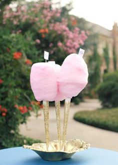 Glam Cotton Candy. @lynnseylambert. We need to add a touch of Vanderpump to your nuptials but we won't let Taylor Armstrong eat any of the cotton candy.