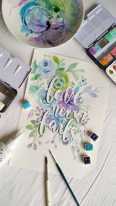 """Playing with Christine Adolph's resist pen, Pastel Dreams, and Tropicals Watercolor Confections on Arches hot-pressed watercolour paper for this piece. Esther Peck #watercolor #design #team #prima"