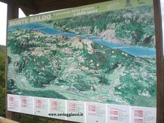 cartina del Monte Baldo