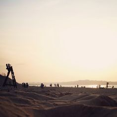 Otro #atardecer en la #playa de #somo #cantabria #spain #playaDeSomo #seascapes #sunset #beach #personicas
