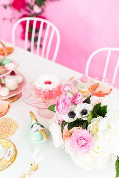 A tea party with Anthropologie's wedding brand, BHLDN, by Sugar and Cloth