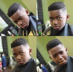 Black Male Hair — afro-arts: Hawk The Barber Prodigy . Black Boys Haircuts Kids, Baby Boy Haircuts, Black Men Haircuts, Black Men Hairstyles, Boy Hairstyles, Kids Cuts, Boy Cuts, Pelo Afro, Haircut Designs
