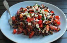 Cooking Recipes, Healthy Recipes, Healthy Food, Kung Pao Chicken, Hummus, Quinoa, Feta, Food And Drink, Ethnic Recipes