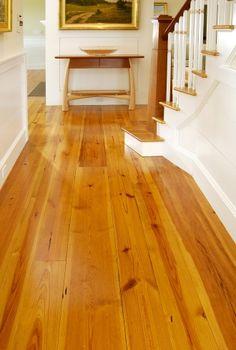 Heart Pine Hallway Carlisle Wide Plank Flooring Solid Wood