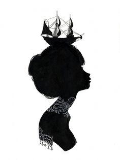 Designspiration — charmaine olivia's blog ▲: tattoed silhouettes + shop additions