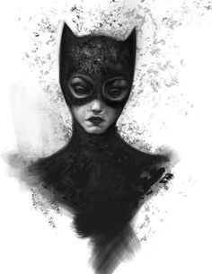 Haunting Batman and Catwoman Portraits by Alex Ruiz — GeekTyrant