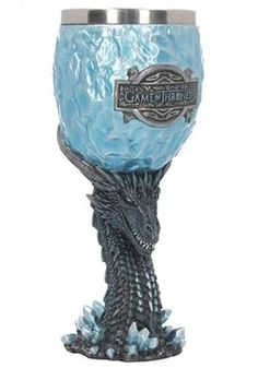 Official Collectable Game of Thrones Winter is Coming Goblet Boxed