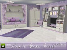 BuffSumm's Audrey Kids Teen Addon Sims 3 Rooms, Sims 4 Beds, 3 Kids Bedroom, Sims 4 Bedroom, Bedroom Stuff, Bedrooms, Sims 4 Tsr, Sims Cc, Sims 4 Cheats