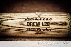 an engraved bat would be a nice touch