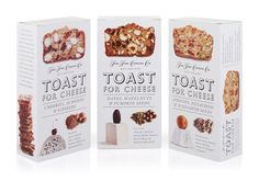 Toast For Cheese - The Dieline -