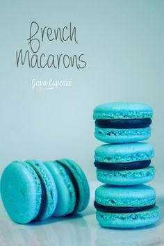 French Macarons   JavaCupcake.com