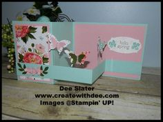 Birthday Bouquet Designer Paper and Cardstock Pack, Elegant Butterfly Punch, Bitty Butterfly Punch, Z Fold Card,