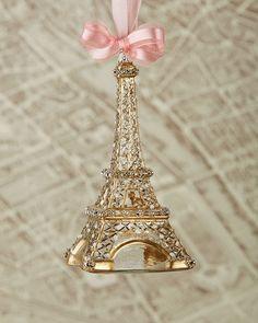 Neumann Marcus Eiffel Tower Christmas ornament