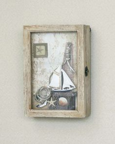Rustic Nautical Key Box / 3 Drawers | Althinz Country