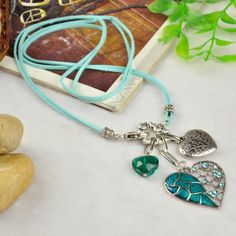 Fashion Tibetan Style Jewelry #DIY #necklace