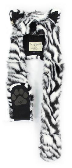 Spirit Hoods HB3 White Tiger