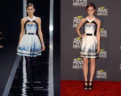 Look de Maxime Simoëns Otoño / Invierno 2013 / Emma Watson en la alfombra de los MTV Movie Awards