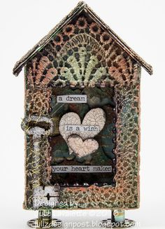That Craft Place Challenge Blog: Steampunk Shrine Tutorial by Julie Lavalette