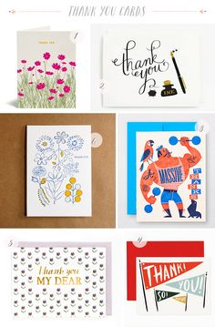 Stationery A Z Thank You Cards