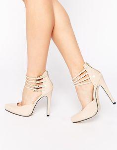 Image 1 - Truffle Collection - Alma - Chaussures à talons avec brides de  cheville