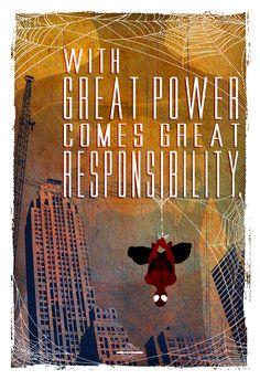 Spiderman Poster Set- Created byTom Ryan