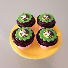 Cupcake abelhas
