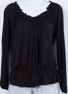 Buy my item on #vinted http://www.vinted.com/womens-clothing/other-tops/20944102-old-navy-black-pleated-top