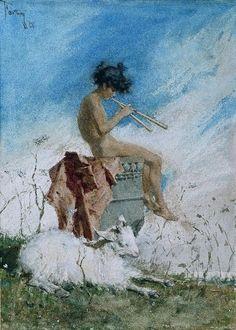Idyll, by Mariano Fortuny