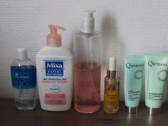 Ma routine soin complète (matin et soir) • Hellocoton.fr Soap, Personal Care, Bottle, Evening Routine, Self Care, Personal Hygiene, Flask, Soaps, Jars