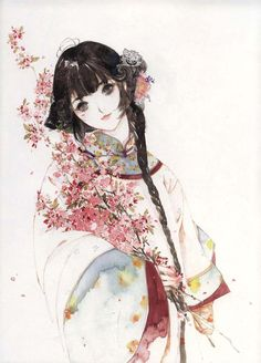 Chinese painting by 呀呀 (YAYA)
