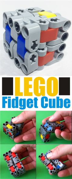 Everyone is going CRAZY for fidget cubes and fidget spinners, especially ones made out of LEGO! #ad
