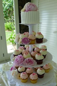 ハワイ カップケーキ 結婚式 - Google 検索