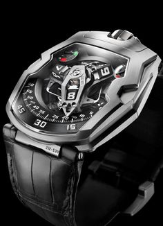 If you happen to see the most beautiful watch in the world! URWERK ur-210